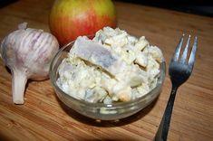""""""" Bałkańska """" sałatka śledziowa Każda sałatka jest pyszna , takie jest moje krótkie zdanie Oczywiście jedne są mniej, inne bardziej smaczne , u nas zawsze największe wzięcie , Read More ... Seafood Salad, Fish And Seafood, Appetizer Salads, Appetizer Recipes, Appetisers, Potato Salad, Food And Drink, Healthy Recipes, Cheese"""