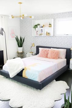 Decorating Bed scandinavian inspired bedroom | lust living | home design lighting