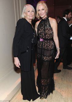 Vanessa Redgrave and her daughter, Joely  Richardson