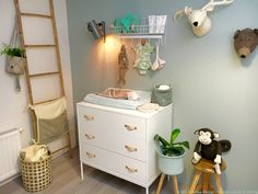 Interieur & kids | Babykamer trends 2017 & Styling make-over     Credits: Woonblog StijlvolStyling.com | Styling en fotografie SBZ Interieur Design
