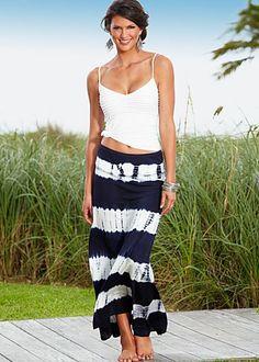 Tye Die Maxi Skirt