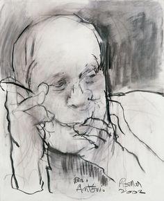 Júlio Pomar Gustav Klimt, Art Drawings Sketches, People Art, Paint Designs, Figure Drawing, Portugal, 1950, Painting, Sketchbooks