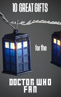 Looking for a gift for your Doctor Who-obsessed friend? Get them the ultimate set of cookie cutters, featuring a Tardis, Cyberman, K9, sonic screwdriver, and a Dalek. Doctor Who men's slippers are great for lounging around at home or for traveling through space and time. Help your friend decorate their home with the addition of Tardis string lights. How about a Tardis teapot or bow tie cuff links paired with a red bow tie. Read on as eBay helps you choose the perfect Doctor Who-themed gift.