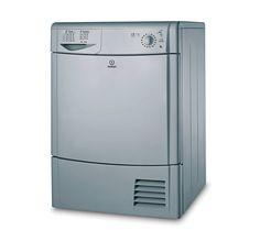 INDESIT IDC85S Condenser Tumble Dryer - Silver