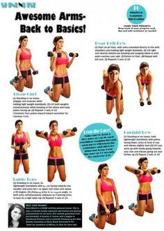 Amazing Arm Workout! (www.shineandrise.net)