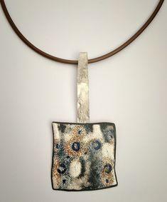 EnamelArt & Sterling Pendant Enamel Jewelry, Jewellery, Vitreous Enamel, Burnt Orange Color, Silver Flats, Enamels, Modern Jewelry, Making Ideas, Jewelry Ideas