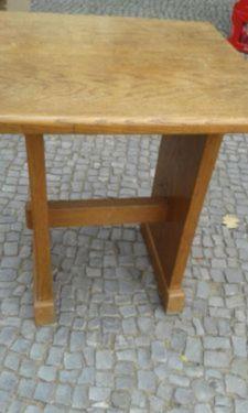 Ikea tisch vejmon in berlin wilmersdorf couchtisch for Holztisch gebraucht