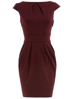 Wine lampshade dress - Dresses $44 and under - Dresses - Dorothy Perkins United States