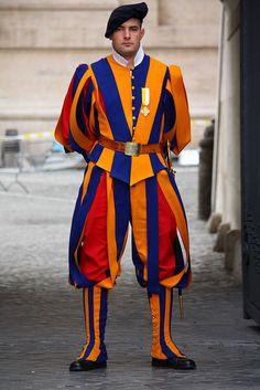 Guarda Suíça, Vaticano, Rome, Italy