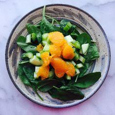 Crunchy Sweet Spinach Salad