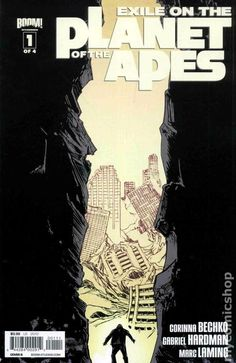 Exile on the Planet of the Apes (2012 Boom) 1B Comic book covers