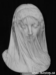 Veiled Virgin - Giovanni Strazza