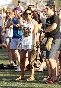 Les looks du festival de Coachella 2014