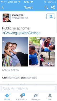 #growingupwithsiblings mine have moved out and when they visit it\'s still true
