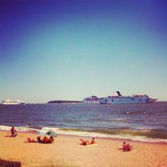 Playa Mansa, Punta del Este, Uruguay.