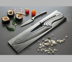 Nesting Knives  http://i.imgur.com/XXA1w.jpg