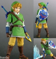 The Legend of Zelda Skyward Sword LINK Figma Action Figure Max Faxctory Sold Out
