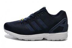 2014 Nuovo Navy Scuro Adidas Originals ZX Flux Uomo Scarpe milano offerta online