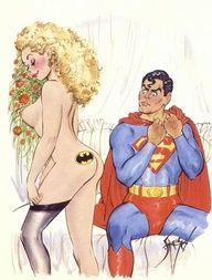 Even SuperMan's Girl Is A BatMan Fan...
