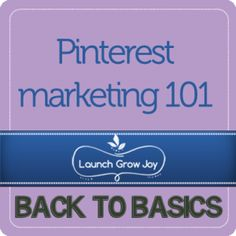 #pinterest marketing 101