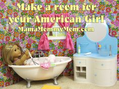American Girl On The Cheap: Making A Room For Your Doll -