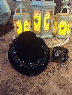 Black agate and onyx 2 strand totaled necklace with matching bracelet