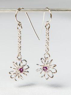 Bloom Earrings - Dangle or Stud -   © Kristen Baird Designs 2014 www.kristenbaird.com