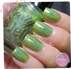 Pretty Jelly Psithurisma nails