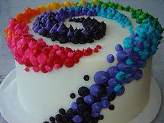 Again. I need to get something to look like fireworks on my cake. Help Tonya!