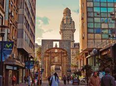 Montevideo, desde la ciudad vieja