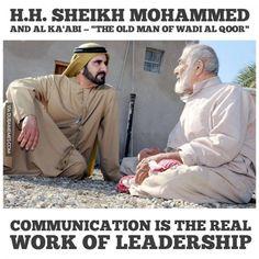 "HH Sheikh Mohammed and Al Ka'abi — ""The Old Man of Wadi Al Qoor""  #dubai #onlyindubai #dubaiproblems #dxb #dubailife #uae #mydubai #sharjah #abudhabi #alain #dubaiexpat #dubaimemes #dubaimall #myuae"