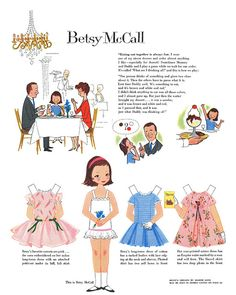 I use to wait every month for my mom to get her McCall Magazine so I could have the paper doll.