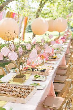 16 Bright Spring Bridal Shower Ideas via Brit + Co