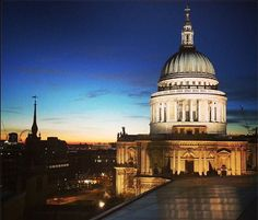 A beautiful London Sunset over St. Paul's | Handpicked London