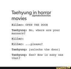 Just random BTS memes and jokes xD Omg Tae... *facepalm*
