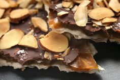This matzoh brittle will last up to one week in an airtight container...like it won't be eaten in a day, right!