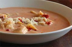 Tortellini Tomato Soup