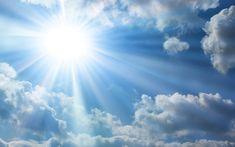 The-Bright-Sun-Blue-Sky-Clouds - Rabbi Sacks Blue Sky Clouds, Sun And Clouds, Blue Sky Background, Background Images, Take Me To Church, Psalm 116 15, Amor Musical, Cloud Wallpaper, Sunshine Wallpaper