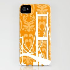 Golden Gate Bridges Silhouette on iPhone Case  3GS 3G by ialbert, $48.00