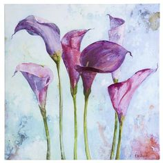 Lilies I Art    Want this for master bedroom