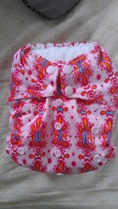 Baby Hello Kitty Recycles Durable Service Rockin Rumps Custom Cloth Diaper