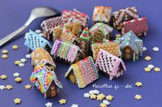 Tiny Gingerbread Houses — Crafthubs