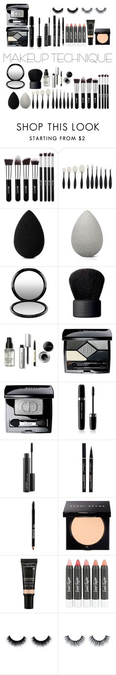 """#Makeup Pro"" by disneylostprincess ❤ liked on Polyvore featuring beauty, beautyblender, MAC Cosmetics, NARS Cosmetics, Bobbi Brown Cosmetics, Christian Dior, Marc Jacobs, Lord & Taylor and Lancôme"