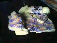 Baby Sweater Hat Booties