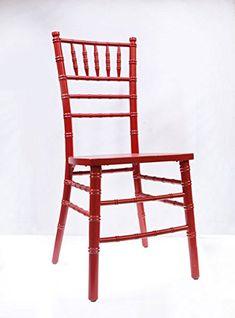 Red Chiavari Chair by VF