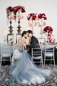 WedLuxe– 50 Shades of Passion | Photography by: Butter Studios Follow @WedLuxe for more wedding inspiration!