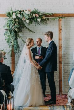 This One Eleven East wedding features a super sweet pastel palette, modern industrial vibes, and incredibly emotional, picture-perfect moments.