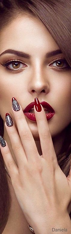 Pin by Pink Sugar on ♥️ MƳ Favorite one ƸӜƷ ✿⊱╮ in 2020 Craig Mcdean, Jessica Stam, Dior Couture, Updo, Perfect Red Lips, Pink Sugar, Day Makeup, Glossy Lips, Beautiful Lips