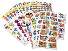 Teacher > Reward Stickers > Super Assortment Value Pack Stickers by Trend: Stickers Galore