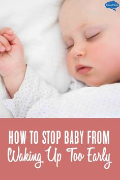 Is your baby waking up too early? When your little one wakes up too early, it throws the whole sleep cycle off for your baby. Here are some tips on how to transition baby into nap time!